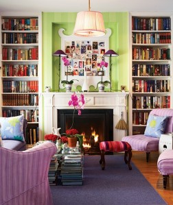 I like the fire and the purple chairs.  Photographer Michael Graydon,